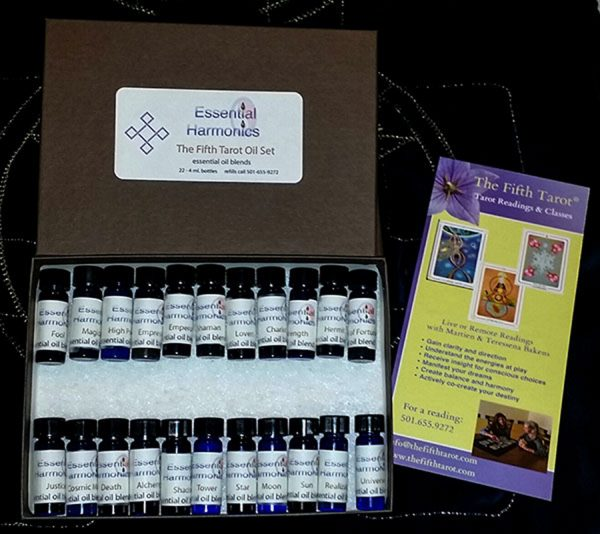 The Fifth Tarot Oils set